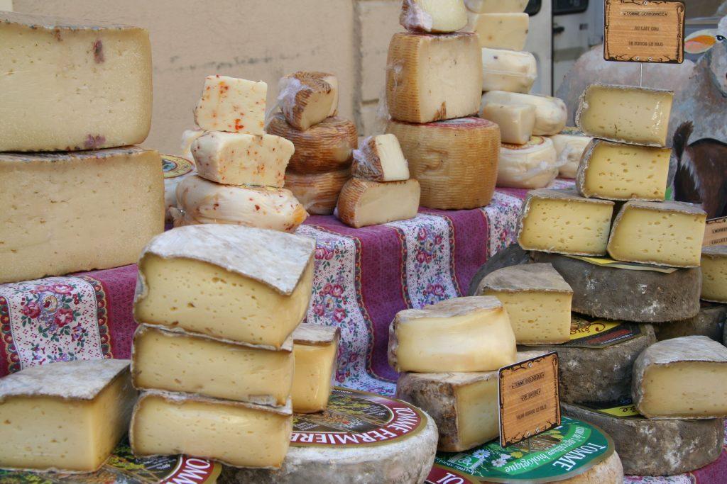 Fromage sur le marché