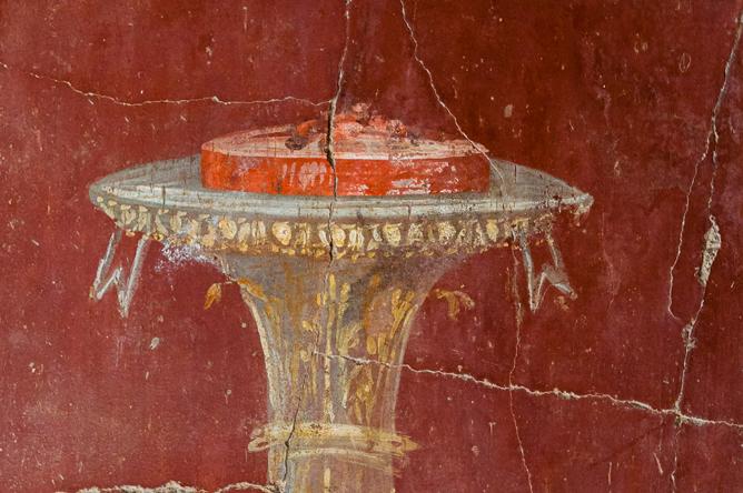 Roman cake, Villa di Oplonti