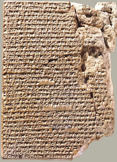 Babylonian clay tablet with recipes, Yale Babylonian Collection
