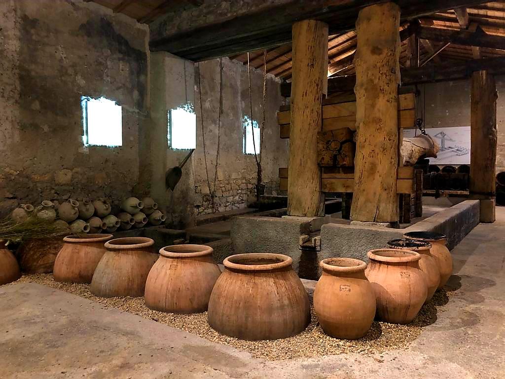 Roman winery Mas de Tourelles